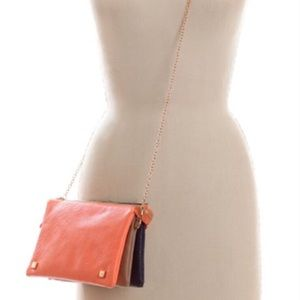 🌈NWT Street Level 3-in-1 TriColor Crossbody Bag🌈